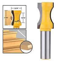 Радиус выпуклый колонковый фрезерный бит 1/2 дюймов Штанговое деревообрабатывающее фрезерование