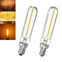 E12 E14 T120 1W 100LM Dimmable Урожай COB светодиодные Эдисон Волокно Холодильник Лампочки