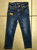 Детские синие джинсы для девочки Лезвие Motop 598-122
