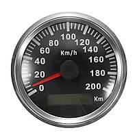 200 KM / H GPS Спидометр Водонепроницаемы Цифровые датчики Авто мотоцикл Авто из нержавеющей стали