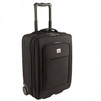 Чемодан на 2 колесах с отделением для ноутбука 17 WERKS PROFESSIONAL Executive Traveler Black черный 30л 38х53