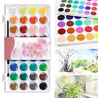 36 разных цветов Solid Акварель Художник Картина Пигмент Box Set