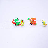 Водоплавающая заводная рыба 133 9*10 см, детская заводная игрушка рыбка, игрушки для купания в ванной