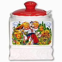 Сахарница керамическая