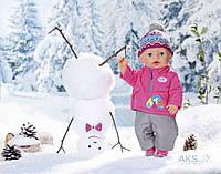 Игрушка Zapf Набор одежды для куклы BABY BORN - СТИЛЬНАЯ ЗИМА (823811)