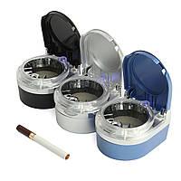 Портативный Авто Пепельница ABS Led Лампа Держатель дымового цилиндра Сигарные сигареты Пепельница