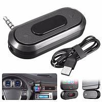 DOOSL Универсальный 3,5 мм Беспроводная Рука освобождает автомобильный радиоприемник FM-передатчик MP3 плейер