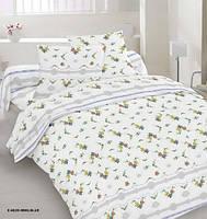 Комплект постельного белья семейный 20-0956 BLUE