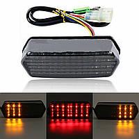 Мотоцикл Интегрированный LED Тормозной сигнал торможения Тормозной свет для Honda Гром 125 MSX 14-16