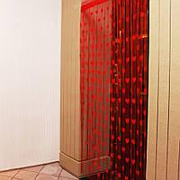 1mx2m Love Heart Строка занавес кисточкой Пелерина для обшивки стен притвора двери окна Home Decor
