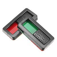 EV-PEAK 10шт Батарея Мощность Дисплей Индикатор Батарея Маркер заряда