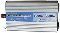 Инвертор напряжения 12-220 Вольт 1000Вт NV-P чистая синусоида