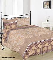 Комплект постельного белья семейный 40-0792 brown