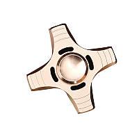 АлюминиевыйсплавЧетырелистаFidgetHand Spinner ADHD Аутизм Уменьшить стресс Фокус Внимание Игрушки