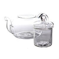800 мл Термостойкое стекло Чай Цветочный горшок Чай Набор чайник Puer Чайpot Office Home Чайset