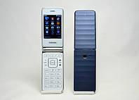 Мобильный телефон Samsung G150 раскладушка, телефон на 2 sim карты, телефон самсунг раскладушка