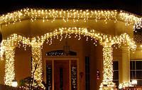 Гирлянда- бахрома светодиодная 120 LED цвет мульти,розовая,белая, синяя