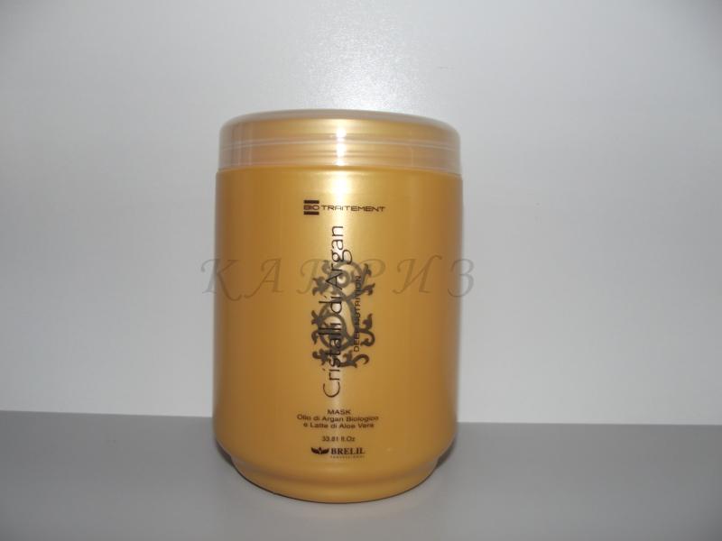 Маска для волос увлажняющая Cristalli d'Argan Mask 1000 мл