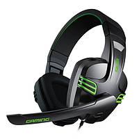 Salar KX101 3,5 мм Более Уши Gaming Deep Bass Omni Направленный Микрофон Наушники с регулируемой головкой