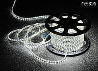 Светодиодная лента LED 3528 W белая 100m 220V, герметичная led лента, лед лента IP68, лента для подсветки
