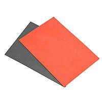 2Pcs A4 Резина для лазерной гравировки Pad Лист Серый Оранжевый 297x210x2.3mm
