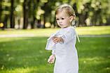 """Крестильная рубашка """" Элит """" для девочки , фото 3"""