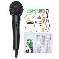DIY FM-радио Микрофон Электронный Набор FM-выпуск электронных компонентов