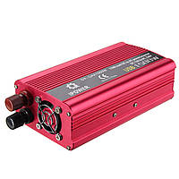 Двойной USB 1500W Авто DC12V к AC220V Преобразователь заряжателя инвертора силы Лодка Авто