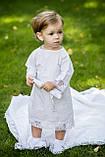 """Крестильная рубашка """" Элит """" для девочки , фото 5"""