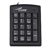 Черный Pure PS / 2 Цифровая клавиатура Numpad Number Mini Pad Клавиатура