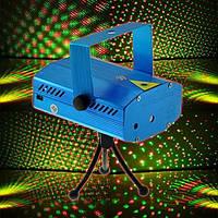 Диско лазер светомузыка LASER K4 4/1, лазерная установка, лазерный прожектор для создания световых эффектов