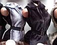 Женская меховая жилетка, фото 2