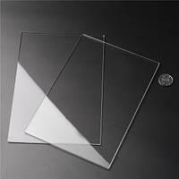 2pcs 225x155x3mm Акриловые листы Прозрачные акриловые листы Режущий Carving плиты