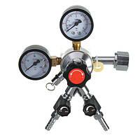 CO2 Регулятор пивоварения Kegerator бар Тройной контрольный клапан 5/16 CGA320 1/4 NPT