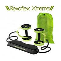 Тренажер с эспандерами Revoflex xtreme, универсальный гимнастический тренажер для мышц