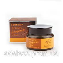 Крем для лица с лошадиным маслом FarmStay Jeju Mayu Complete Horse Oil Cream