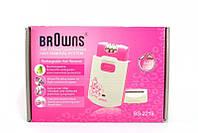 Эпилятор с бритвенной насадкой Browns 2 в 1 BS2219, женская электробритва