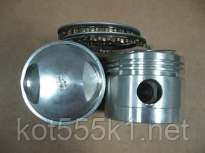 Поршни кованные Урал 650/750 , номинал 78 мм, с кольцами.