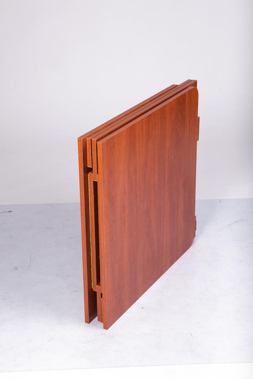 Стол транформер Книжка Light 70х8(140)х75 вишня оксфорд