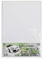 Бумага для черчения 10листов, плотная 170г/м