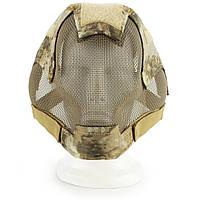 WOSPORTV6ВоенныйAirsoftPaintballТактическая защита Стальная сетка Full Face Маска