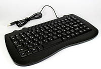Клавиатура KEYBOARD MINI KB-980, проводная клавиатура, клавиатура для компьютера