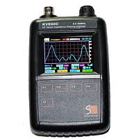 KVE60C ВЧ вектор полного сопротивления антенны Анализатор для Walkie Talkie Графическое представление / Ham Radio DIY