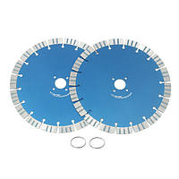 2шт 230мм Алмазные диски Диски Бетон Cut Инструмент для угловой шлифовальной машины
