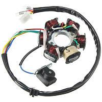 GY6 50cc 110cc 150cc Магнит зажигания магнито для 6-ти мотороллеров Мопед ATV TAOTAO JCL