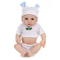 11inch Handmade Reborn Baby Кукла Lifelike Baby Boy Play House Bath Toy
