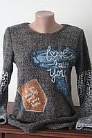 Блуза женская с надписью, фото 1
