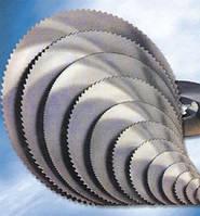 Пилы дисковые для резки стали, труб, проката. Пильные диски по металлу из быстрорежущей стали. Дисковые пилы