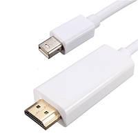 1.8M Mini Дисплей Port DP Male To HD Мужской переходный кабель