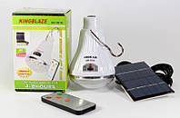 Светодиодная лампа с аккумулятором Kingblaze GD 5016, лампа фонарь на солнечных батареях